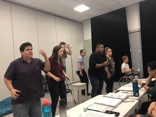 Operativo - L'Italiana in Algeri Rehearsal