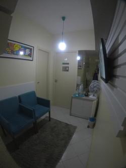 Sala de espera do consultório