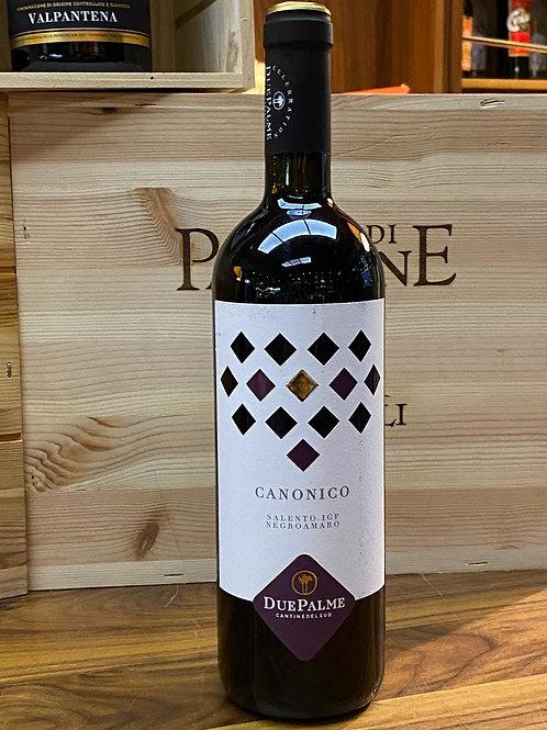 Canonico Negroamaro IGP, Salento, 2019,Cantine Due Palme (Puglia)