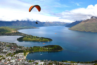 Hangliding in New Zealand