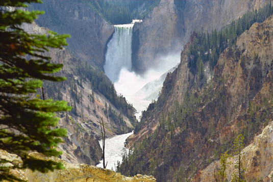 Artist Point, Yellowstone National Park