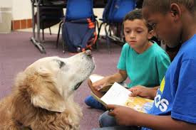 Dogs Help Children Learn to Read