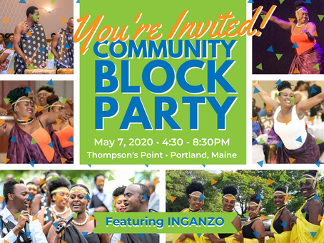 TICKETS FOR THE COMMUNITY BLOCK PARTY ON SALE NOW!
