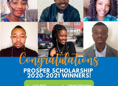 Congratulations 2020 scholarship winners!!