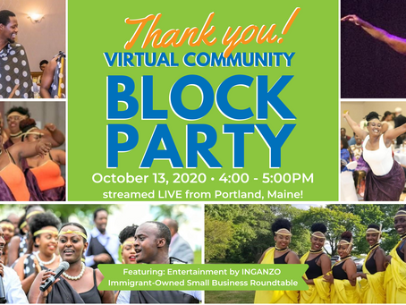 Thank you for making the Block Party a Success!