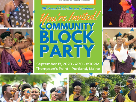 Same Block Party, New Date!