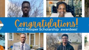 Congratulations to the 2021 Scholarship Awardees!