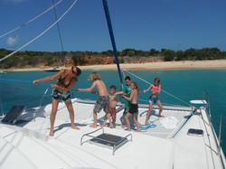 Hoisting the Sail