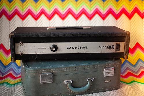 1970's Sunn Concert Slave Power Amplifier