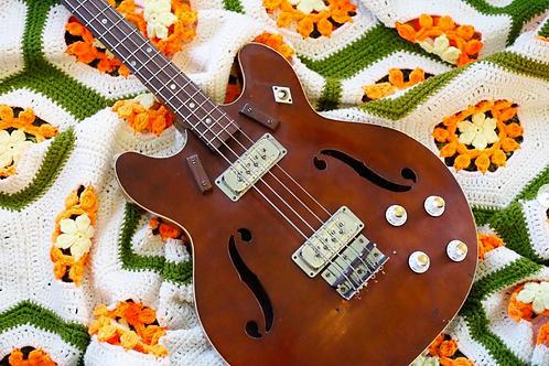 1972 Harmony H420 Bass
