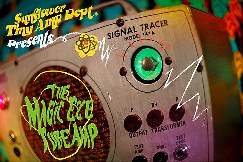 Magic Eye Hand Wired Tube Amp