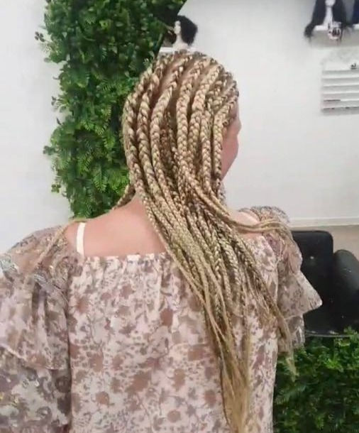 Cornrow with extention