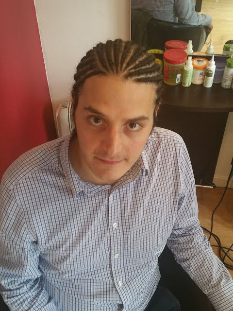Cornrow without extensions