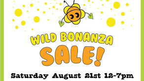 Party Flower Invites YOU to the Wild Bonanza Sale!