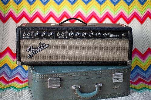1966 Fender Band Master Amp Head