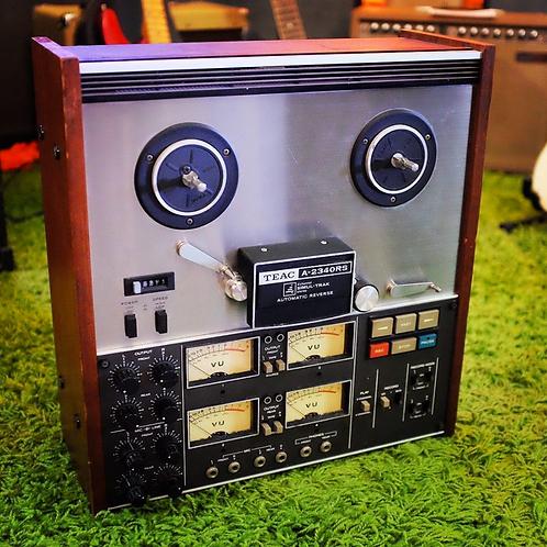 "Vintage Teac A-2340RS 1/4"" 4-Track Quad Reel to Reel recorder"