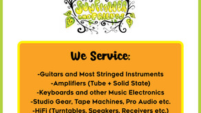 Now Offering Music Repairs for the Lockhart/Austin area!