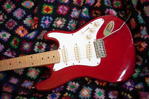 Vintage Hondo H760 3/4 Scale Strat Copy Guitar