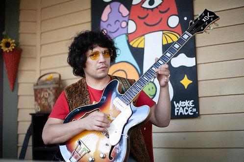 RARE: 1966 Vox V245 New Orleans Hollowbody Guitar