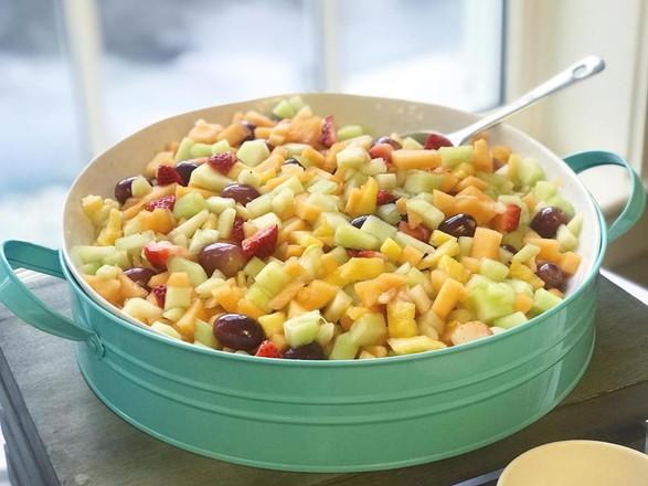 fresh cut fruit salad