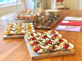 assorted petite plates