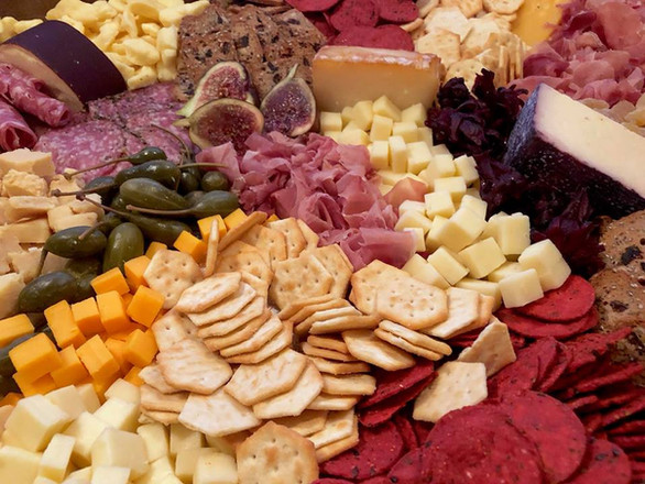 cheese + charcuterie + accouterments