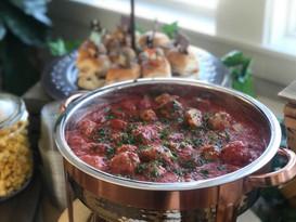 meatballs marinara