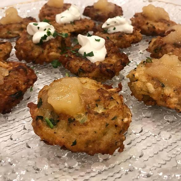 petite potato latke