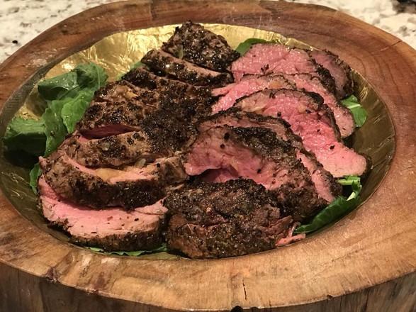 garlic herb crusted beef tenderloin