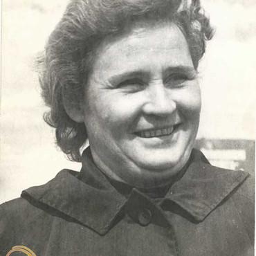 Григорьева Антонина Георгиевна. Фотопортрет. 1964 г.