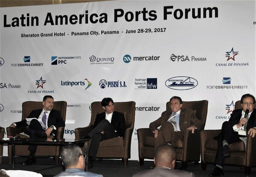 Energy Logistics Port Panel