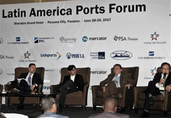 Energy Logistics Port Panel