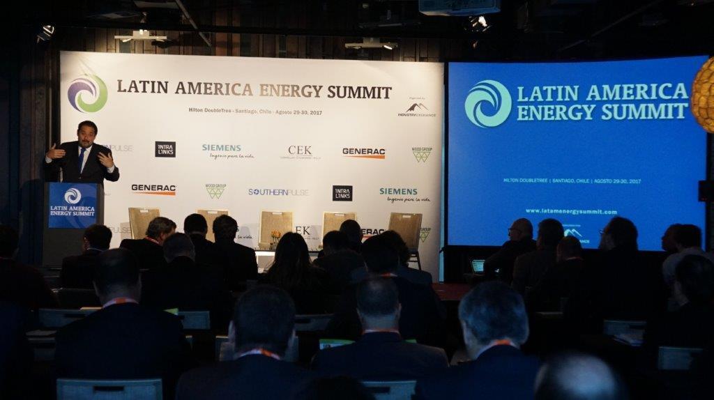 Andrés Rebolledo Ministro de Energia