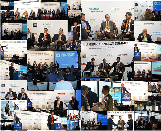 Latin America Energy Summit Jay Applewhite Collage Santigo Chle