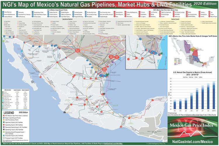 Mexico Natural Gas Pipeline Map at Mexico Gas Summit organized by Industry Exchange