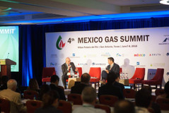 Raul Ferro and Javier Gutierrez from CFEnergia