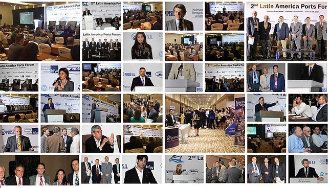 Latin America Ports Forum Panama Organized by Indutry Exchange Jay Applewhite Raul Ferro