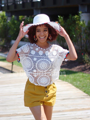 CLARISSE Crochet Cover Up