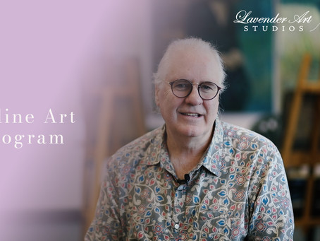 Online Classes at Lavender Art Studios