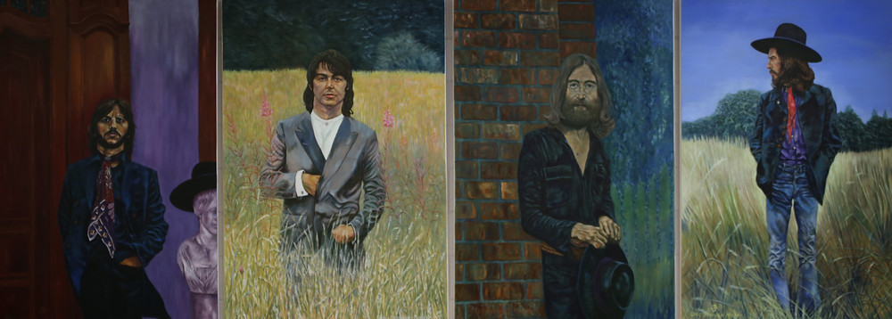 Portraits of the Beatles by Greg Devenny-Mackay