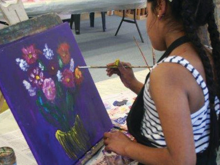 The Art of Nature: Spring Holiday Art Workshops