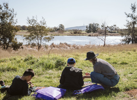 Art Excursion to Jerrabomberra Wetlands