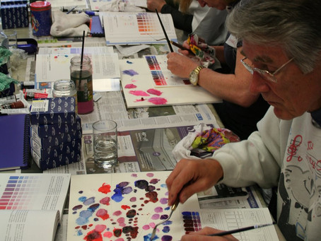 Colour Mixing in Oils Art Workshop for Adults