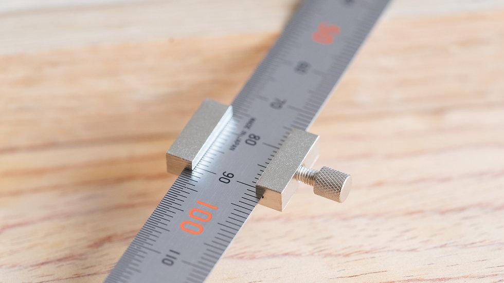 Shinwa Ruler Stop for 150 mm.