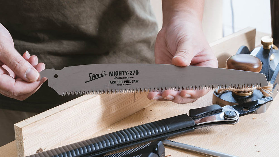 Plywood + Pruning Saw Blade (Replacement)