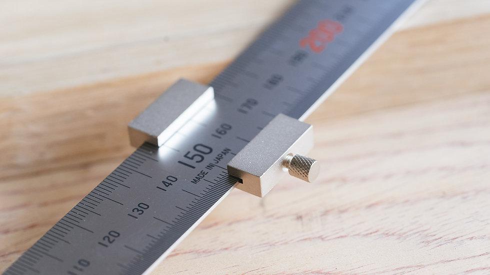 Shinwa Ruler Stop for 300 mm.