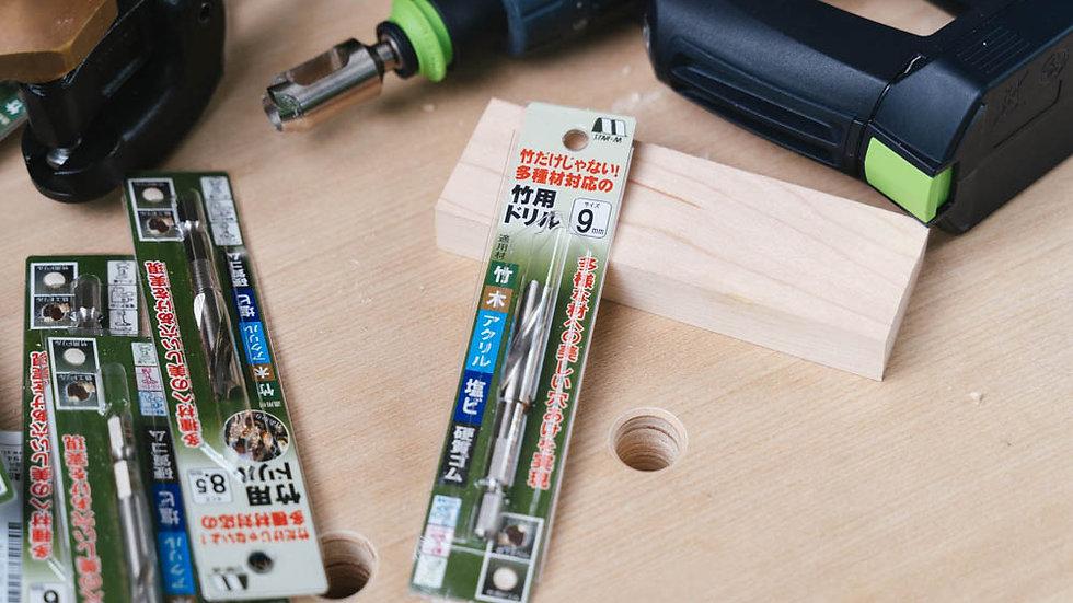 Multi-Twist Drill Bits 9 mm.