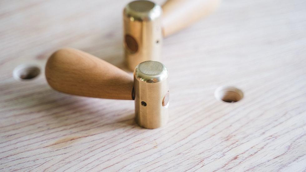 Brass Chisel Hammer 300 g.