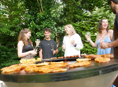 Social Grilling - don't miss the fun!