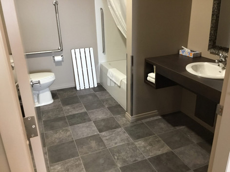 ADA- compliant bathroom layout